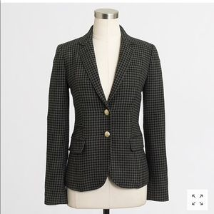 Elbow-Patch Keating Boy Blazer in Houndstooth